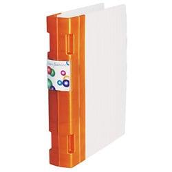 KNF-552-05 [kebaナノファッション Wプロングファイル A4 オレンジ]