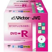 VD-R120VQ20 [録画用DVD-R 追記型 1-16倍速 片面1層 4.7GB 20枚 ホワイトレーベル インクジェットプリンター対応]