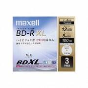 BR100VWPB.3J [録画用BDR 4X 100GB 3枚]