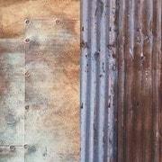 LB5712 [アーバン背景 1.5 x 2.1m トタン波板/メタル壁]