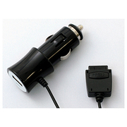 DKJ-SDCB [DCケータイ充電器 DC Mobile Charger PLY ブラック au CDMA対応]