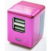 AKJ-SD2PK [USB専用AC充電器 AC Charger Cube W ピンク]