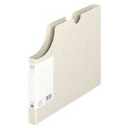 FL-020BF [ボックスホルダー 〈95%再生紙〉 ライトグレー A4-E]