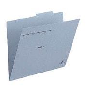 FL-031IF [個別フォルダー 〈古紙パルプ配合率95%再生紙〉 ブルー A4-E]