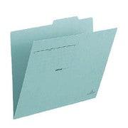 FL-031IF [個別フォルダー 〈古紙パルプ配合率95%再生紙〉 グリーン A4-E]
