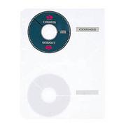 RE-141CD [差替えリフィール CD・CD-ROMリフィール 4穴・3穴・2穴 透明 A4-S]