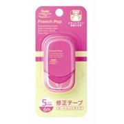 XZTF5NPW [修正テープ French Pop my color フレンチポップ マイカラー 5mm×6m ローズピンク]