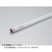 FLR455T6W [直管蛍光灯(ラピッドスタート形) エースラインランプ G13口金 白色 長さ455mm]