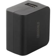 BSMPBAC01BK [スマートフォン/タブレット用USB充電器 急速充電対応 1ポートタイプ ブラック]