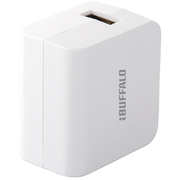 BSMPBAC01WH [スマートフォン/タブレット用USB充電器 急速充電対応 1ポートタイプ ホワイト]