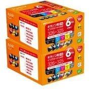PLE-CB3266P-2P [キヤノンBCI-326+325/6MP対応インクカートリッジ 6色セット×2個パック]