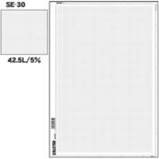 SE-30 [スクリーントーン デリータースクリーン アミ点 42.5L 5%]