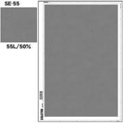 SE-55 [スクリーントーン デリータースクリーン アミ点 55L 50%]
