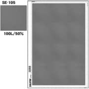 SE-105 [スクリーントーン デリータースクリーン アミ点 100L 50%]