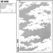 SE-858 [スクリーントーン デリータースクリーン 空 雲]