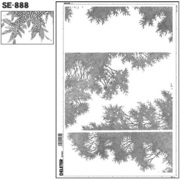 SE-888 [スクリーントーン デリータースクリーン 樹木]