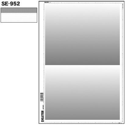 SE-952 [スクリーントーン デリータースクリーン グラデ 60L 0-40% 2段]