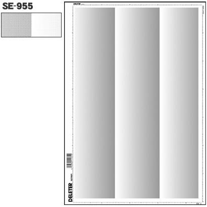 SE-955 [スクリーントーン デリータースクリーン グラデ 60L 0-30% 3列]