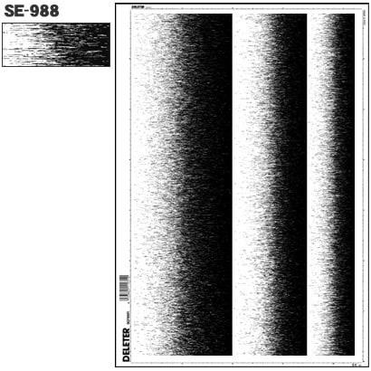 SE-988 [スクリーントーン デリータースクリーン グラデ 3列]