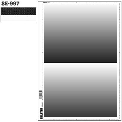 SE-997 [スクリーントーン デリータースクリーン グラデ 60L 0-90% 2段]