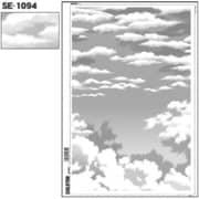 SE-1094 [スクリーントーン デリータースクリーン 空 雲 60L]