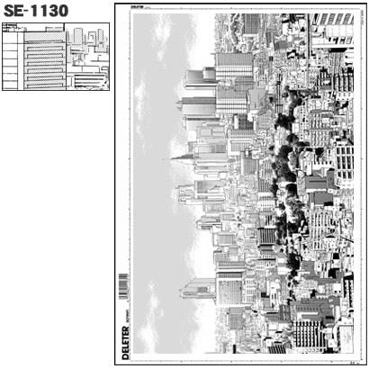 SE-1130 [スクリーントーン デリータースクリーン 背景 建物 60L]