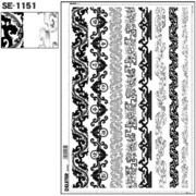 SE-1151 [スクリーントーン デリータースクリーン 飾り罫線 和]