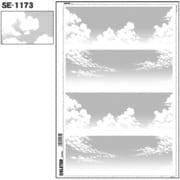 SE-1173 [スクリーントーン デリータースクリーン 空 雲 60L]