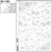 SE-1182 [スクリーントーン デリータースクリーン 花柄 65L]