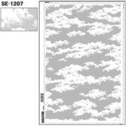SE-1207 [スクリーントーン デリータースクリーン 空 雲 60L]