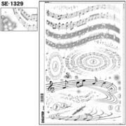SE-1329 [スクリーントーン デリータースクリーン 効果音符 60L]