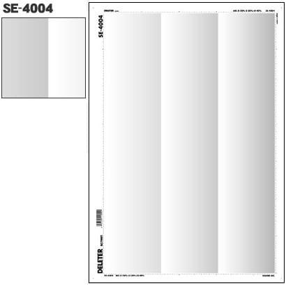 SE-4004 [スクリーントーン デリータースクリーン グラデ 60L 0-20% 0-30% 0-40% 3列]