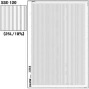 SSE-120 [スクリーントーン デリータースクリーン 万線 25L 10%]