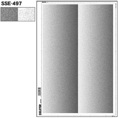 SSE-497 [スクリーントーン デリータースクリーン グラデ 砂目 60L 2列]