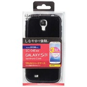 PG-SC04E16BKL GALAXYS4用TPUケース [ブラックラメ]