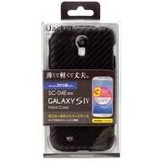PG-SC04E30CRB GALAXYS4用PCケース [カーボンブラック]