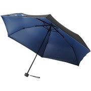 晴雨兼用折りたたみ傘 99.9% 折りたたみ傘 6本骨 50cm ラピスラズリ [MBU-UVQ05]
