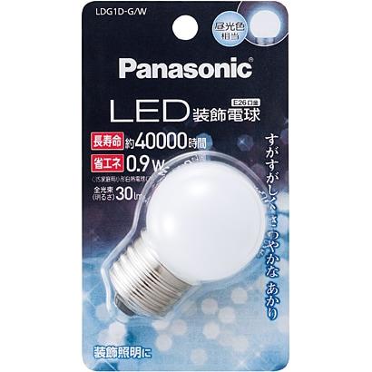 LDG1DGW [LED電球 装飾電球 E26口金 昼光色相当 30lm G形]