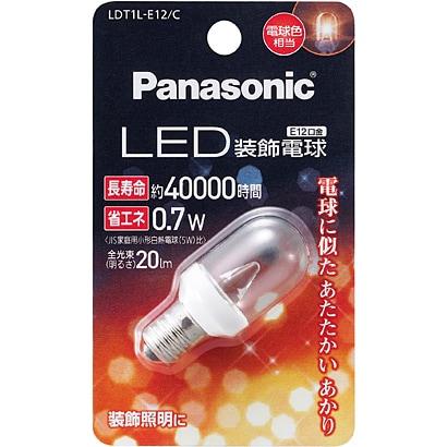 LDT1LE12C [LED電球 E12口金 電球色相当 20lm]