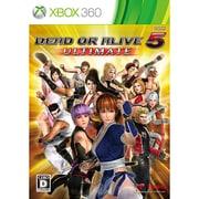 DEAD OR ALIVE 5 Ultimate デッド オア アライブ5 アルティメット [Xbox360ソフト]
