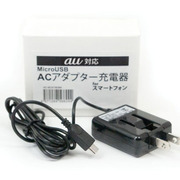 AC-BOX79ABK [スマートフォン用AC充電器出力1Aタイプ au用 ブラック]