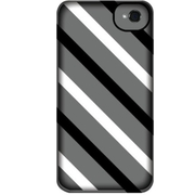 GB35935 [Exposed DiagonalStripes iPod Touch 5-BLK WHT CLR]