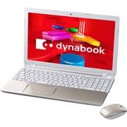PT55337JBMG [dynabook T553/37JG 15.6型ワイド液晶/HDD 750GB/Blu-rayDiscドライブ/ライトゴールド]