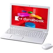 PT55337JBMWD [dynabook T553/37JWD 15.6型ワイド液晶/HDD 750GB/Blu-rayDiscドライブ/リュクスホワイト ヨドバシカメラオリジナル]