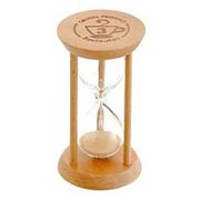 015489 [砂時計 カフェパレス サンドグラス 3min.]