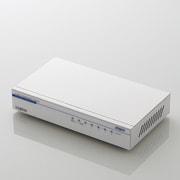 LAN-GSW05P/HGW [ギガビット/5ポート/電源内蔵/メタル/50℃対応/ホワイト]