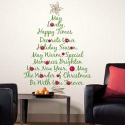 クリスマス ツリー ウォール ステッカー