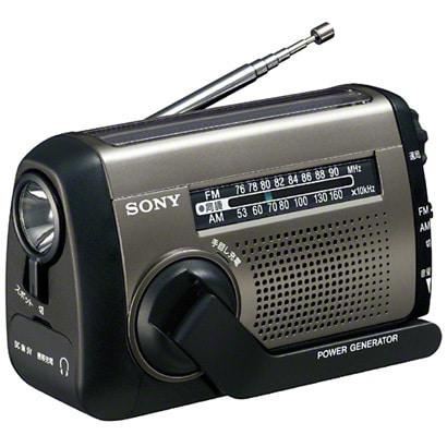 ICF-B88 SC [手回し充電/USB充電/太陽光充電対応 FM/AMポータブルラジオ]