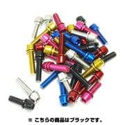 108-00166 [TL-109F-520-BK ステンレスカラーボルト(M5*20)ブラック]