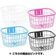 126-00032 [GKO-8131-PI 幼児用オシャレ丸型ワイヤーバスケットピンク]